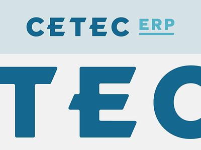 Cetec Branding lettering custom branding logo