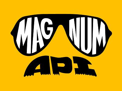 Magnum Api Logo api logo lettering