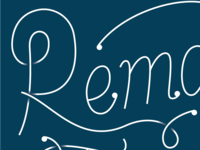 Remain Teachable Lettering
