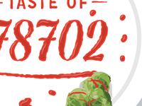 Sriracha Lettering - Taste Of 78702
