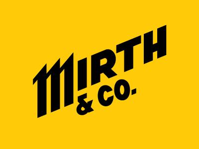 Mirth lettering 3 sm