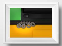 """Winning poster """"Descubra Brasil 2014"""""""