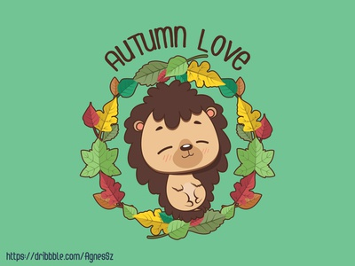 Autumn love design