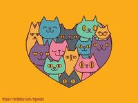 Cats in my heart
