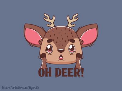 Oh Deer! pun