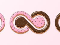 A sweet Bending Spoons' logo