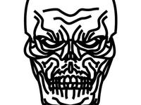 Day 9. Skull