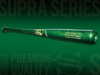 Limited Edition Supra Lucky Baseball Bat End Brand