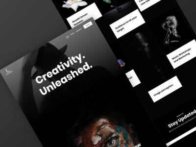 Labyrinth – Website design