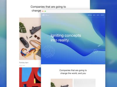 Real Company – Website design