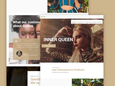 Godiva Lines – Website design