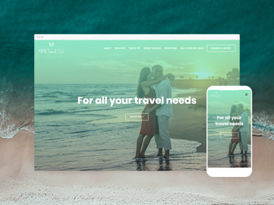 KBN Travel – Website design