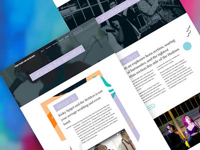 Kinky Spigot website design clean ai website website web design simple typography website design ai web design