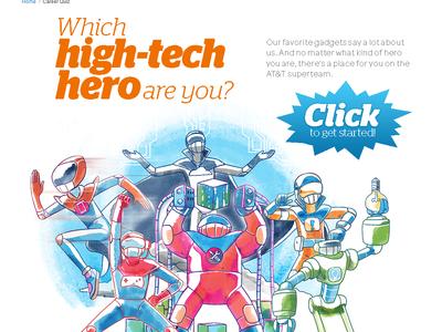 AT&T Innovation Career Quiz