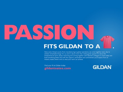 Gildan Global Recruitment Concept