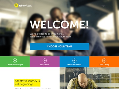 Yellow Pages Careers Website