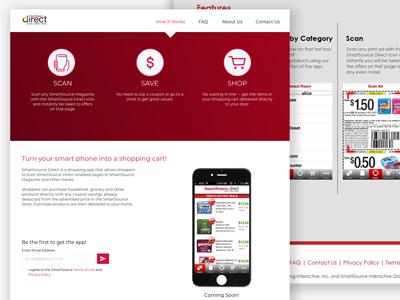 SSD Microsite ux-design website-redesign microsite