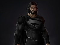 Superman - Black suit design