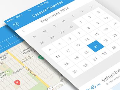 Calendar iphone ios7