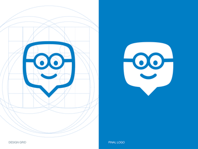Edmodo Logo edmodo logo blue grid identity branding line brand