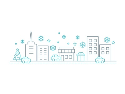 Curbside Holiday Town curbside app ios iphone shopping town holiday