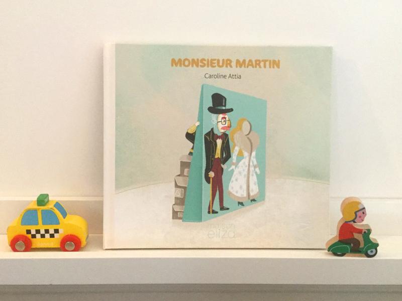 Monsieur Martin cover print book kid kidlitart children book illustration