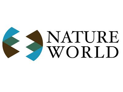 Nature World Logo Design logotype design branding logo