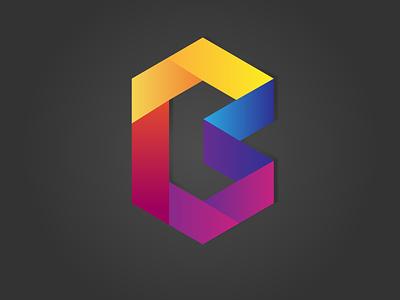 Logo with Letter 'B' sale illustration vector logotype design branding logo