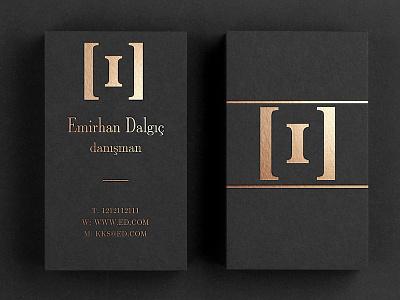 Emirhan Dalgic Logo & Business Card Design design branding logo business card