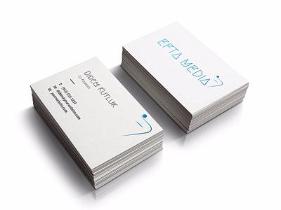 Efta Media Logo & Branding branding design logo business card