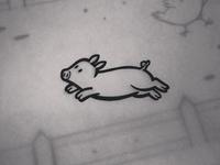 Inktober Piglet