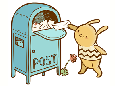 Mail Bunny for Contact Page
