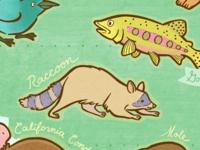 California Wildlife Map