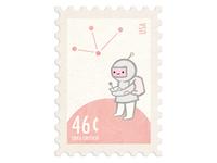 Spaceboy Stamp
