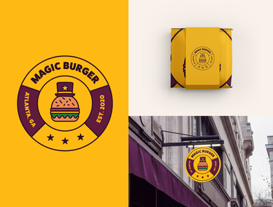 Magic Burger Badge