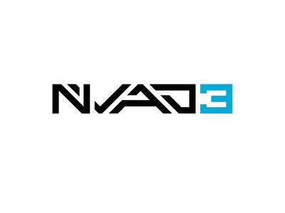 Nvad3 Wordmark / logotype