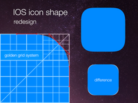 IOS icon shape redesign (PSD, AI, SVG)