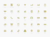 Amenities Icons Pack