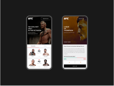 UFC prediction — concept