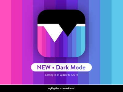 New feature in Auricular – Dark Mode
