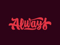 Always creating