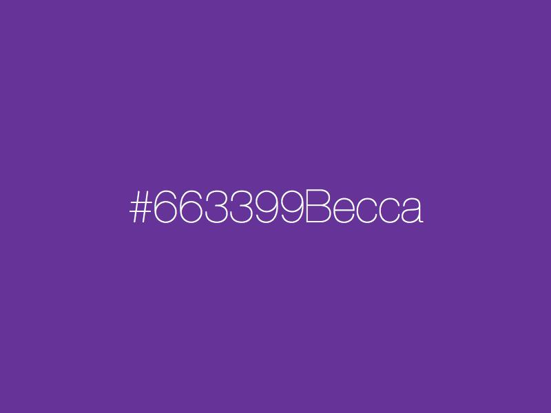663399becca
