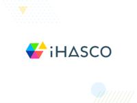 The new iHASCO typography logo hicksdesign branding identity ihasco