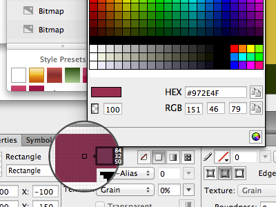 Color picker woes