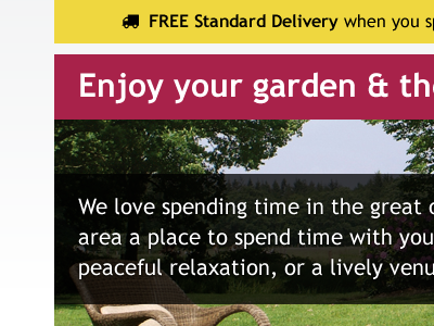Enjoy your garden garden delivery hero lead trebuchet