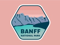 Banff National Park Badge