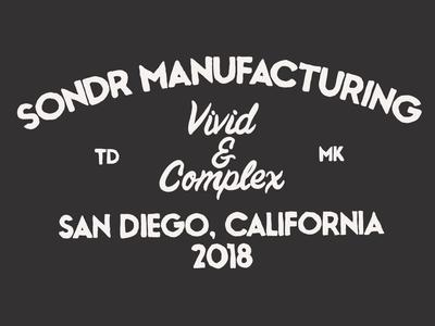 Sondr Manufacturing