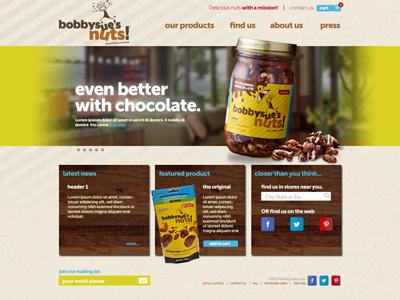 Bobbysues web design color