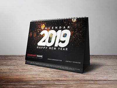 Desk Calendar Cover Design