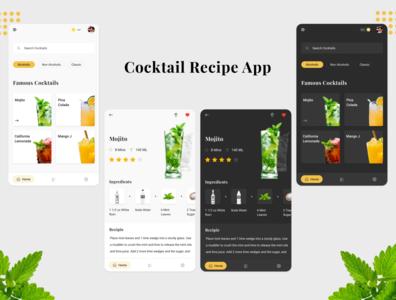 Cocktail Recipe App